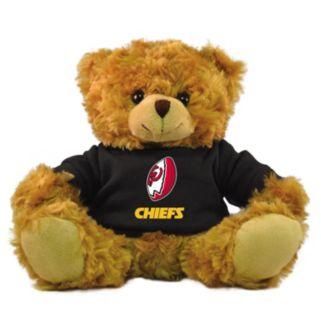 """Bleacher Creatures Kansas City Chiefs 9"""" Rally Men Hoodie Bear"""