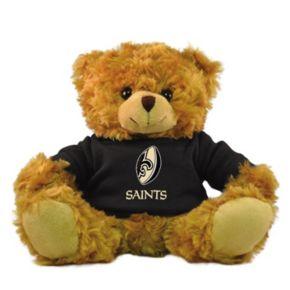 "Bleacher Creatures New Orleans Saints 9"" Rally Men Hoodie Bear"