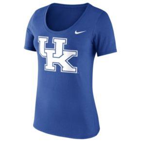 Women's Nike Kentucky Wildcats Logo Scoopneck Tee