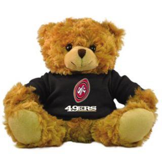 "Bleacher Creatures San Francisco 49ers 9"" Rally Men Hoodie Bear"