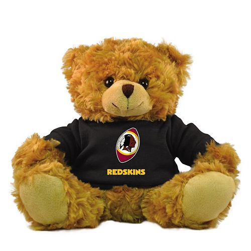 "Bleacher Creatures Washington Redskins 9"" Rally Men Hoodie Bear"