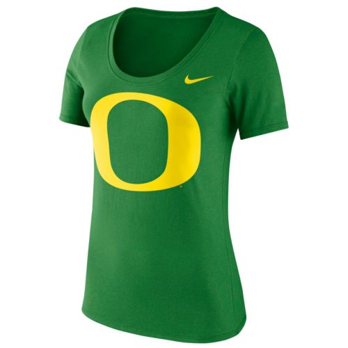 Women's Nike Oregon Ducks Logo Scoopneck Tee