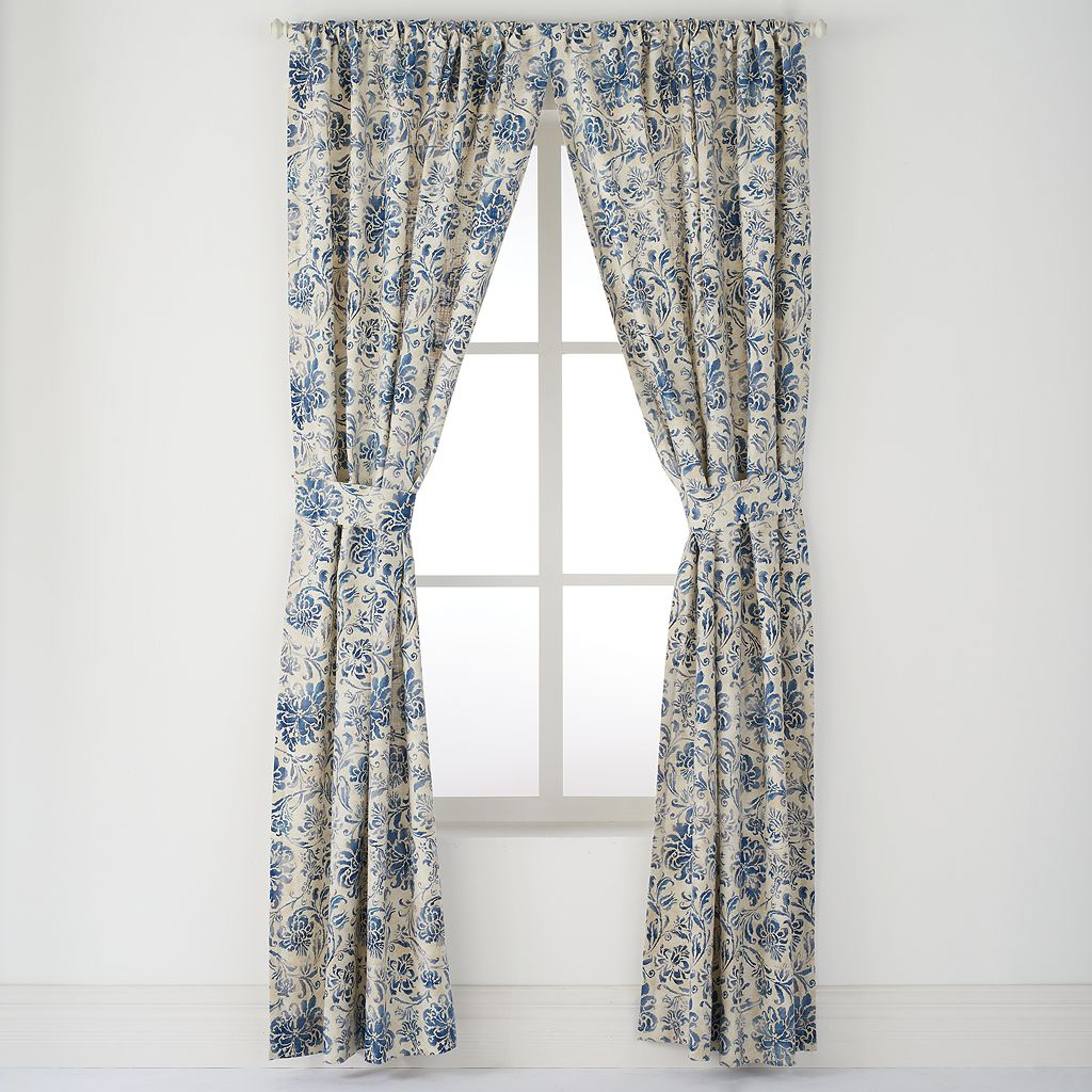 Chaps 2-pack Beauport Window Curtain - 42'' x 84''
