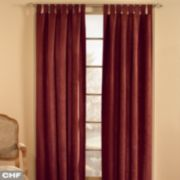 Window Curtainworks 1-Panel Microsuede Window Curtain