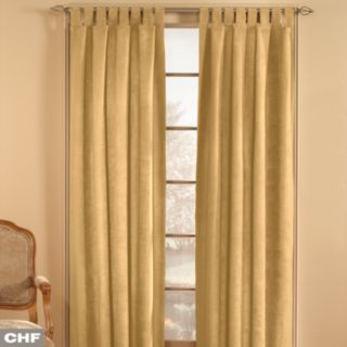 Window Curtainworks 1-Panel Microsuede Window Curtain