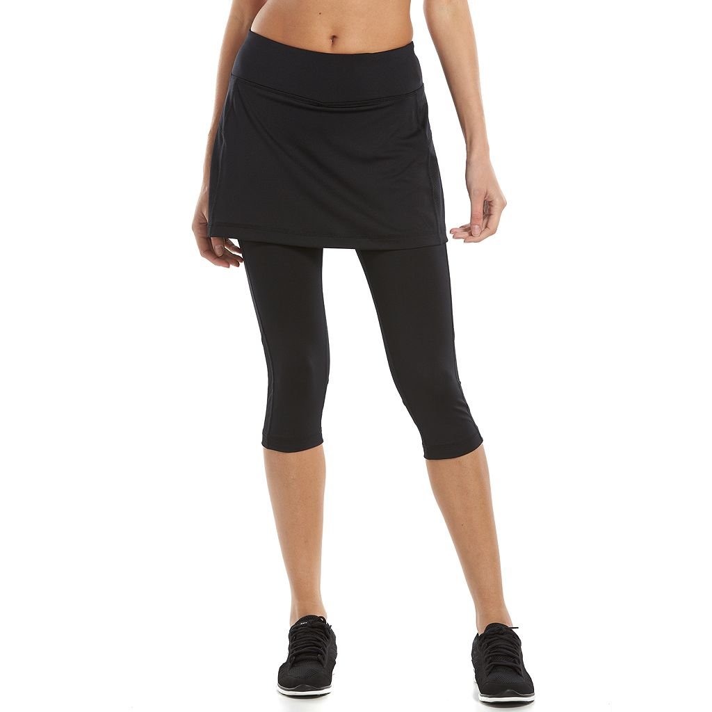 Women's Tek Gear® Core Performance Tennis Skirted Capri Leggings