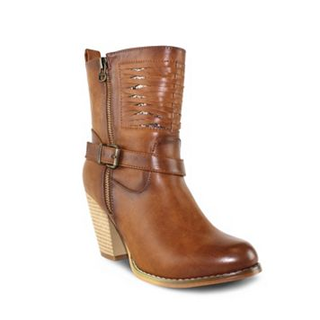 Olivia Miller South Street Women's Chunky Heel Boots