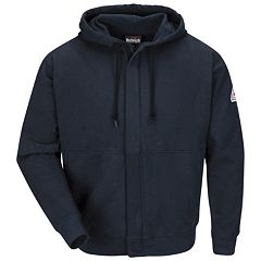 Men's Bulwark FR Zip-Front Hooded Sweatshirt