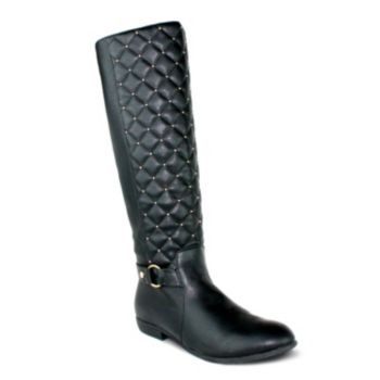 Olivia Miller Elsa Women's Quilted Riding Boots