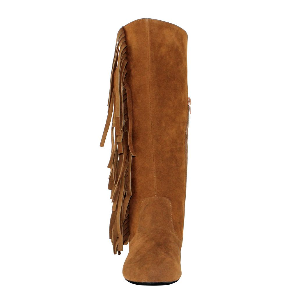 Olivia Miller Dakota Women's Fringe Moccasin Boots