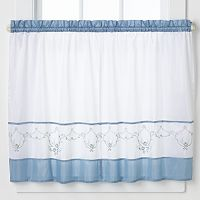 CHF Grace 2-pk. Tailored Tier Curtains