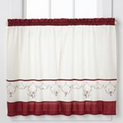 CHF Grace Tailored Tier Kitchen Window Curtain Set