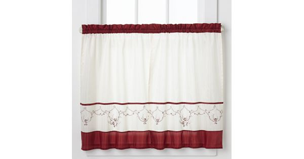 Kohls Wedding Registry Gift Card : CHF Grace 2-pk. Tailored Tier Curtains