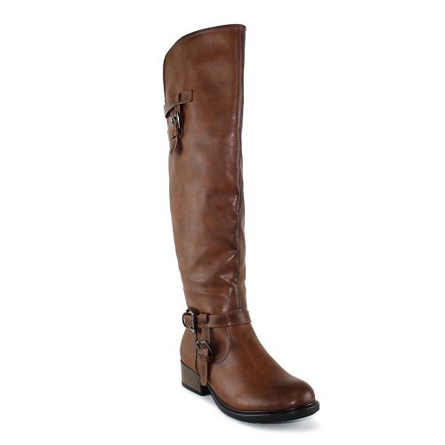 Easy To Use Olivia Miller Mulberry Womens Riding Boots