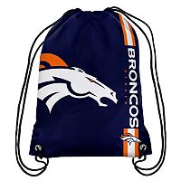 Denver Broncos Drawstring Backpack