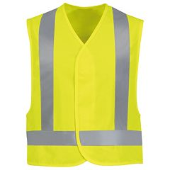 Men's Red Kap Hi-Visibility Safety Vest