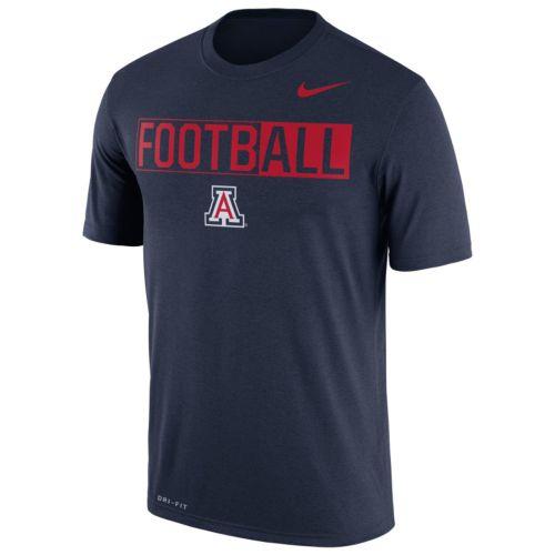 Men's Nike Arizona Wildcats Dri-FIT Football Tee