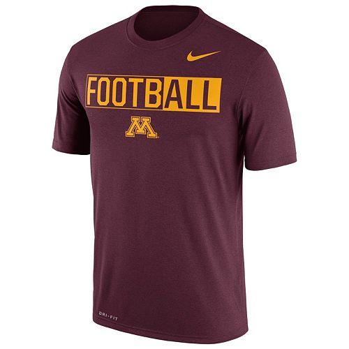 Men's Nike Minnesota Golden Gophers Dri-FIT Football Tee