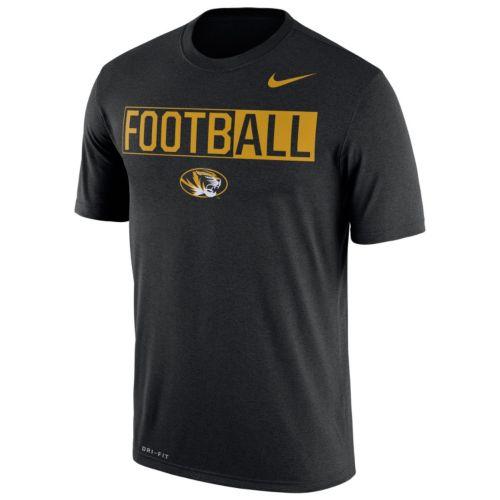 Men's Nike Missouri Tigers Dri-FIT Football Tee