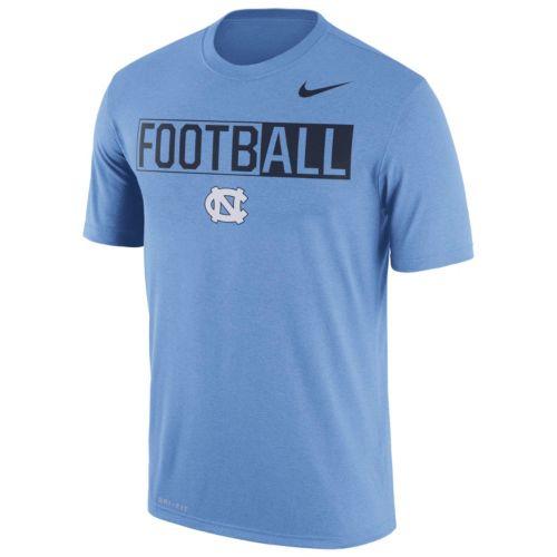 Men's Nike North Carolina Tar Heels Dri-FIT Football Tee