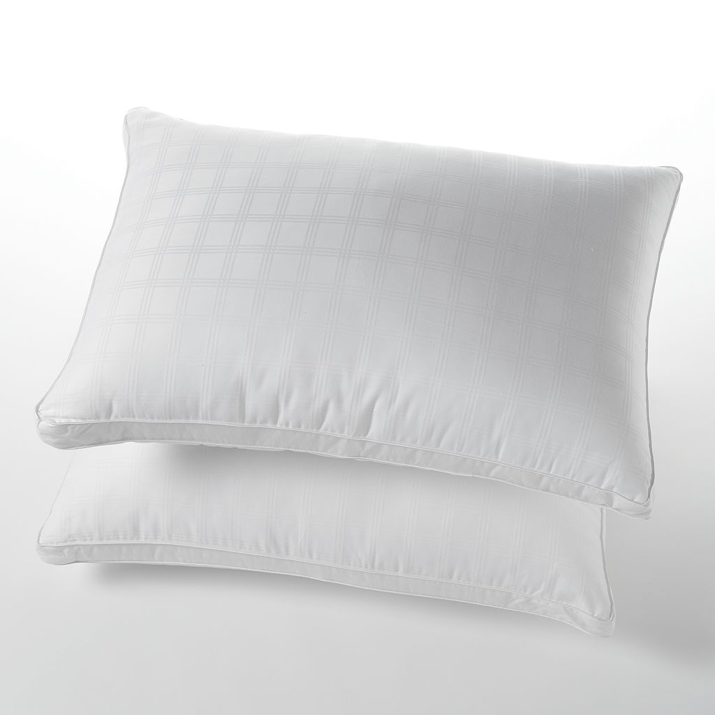 LC Modern Classics Memory Fiber 2-pk. 300 Thread Count Pillows