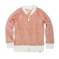 Toddler Girl Burt's Bees Baby Knit Terry Jacket
