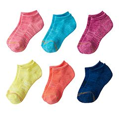 Girls GOLDTOE 6-pk. Space-Dyed Liner Socks