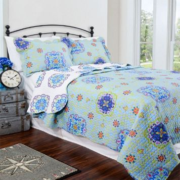 Pegasus Home Fashions Candella Vintage Collection Quilt Set