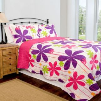 Pegasus Home Fashions Pandora Home ID Collection Contemporary Quilt Set