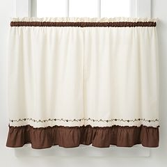 CHF Jayden Tier Kitchen Window Curtain Set