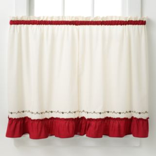 CHF Jayden 2-pk. Tier Curtains