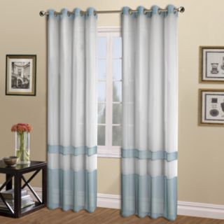 United Curtain Co. 1-Panel  Milan Window Curtain
