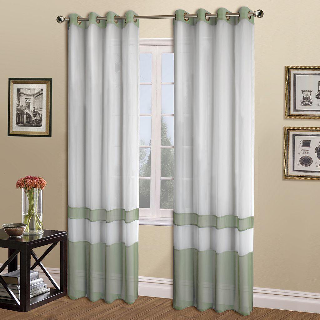 United Curtain Co. Milan Window Curtain