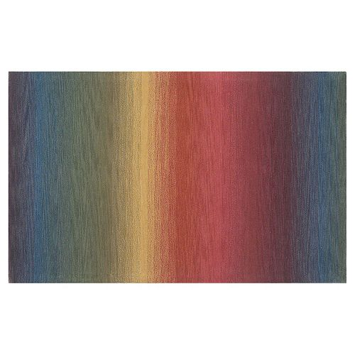 Liora Manne Ombre Stripes Wool Rug