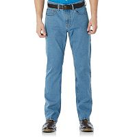 Men's Savane Straight-Fit Active Flex Denim Pants