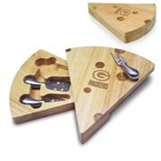 Picnic Time Green Bay Packers Cheese Cutting Board Set