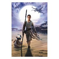 Star Wars: Episode VII The Force Awakens Rey Poster by Art.com