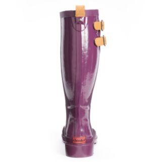 Chooka Solid Women's Tall Waterproof Rain Boots