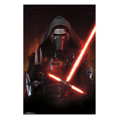 Star Wars: Episode VII The Force Awakens Kylo Ren Poster by Art.com