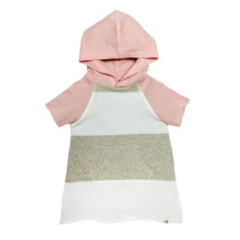 Toddler Girl Burt's Bees Baby Organic Hooded Tunic