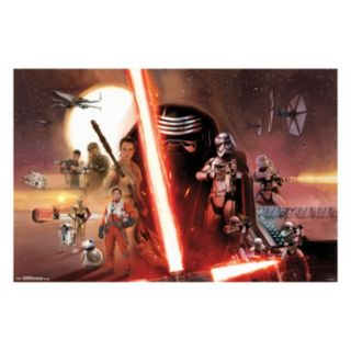 Star Wars: Episode VII The Force Awakens Group Poster by Art.com