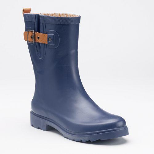 Chooka Solid Women's Waterproof Rain Boots