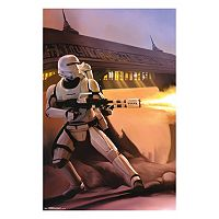 Star Wars: Episode VII The Force Awakens Fire Poster by Art.com