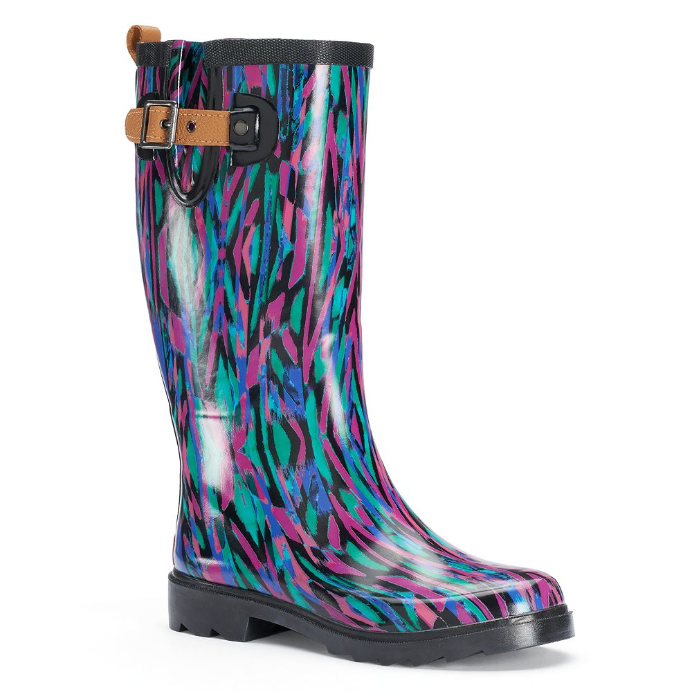 31014e949bcdf Chooka Women s Waterproof Rain Boots