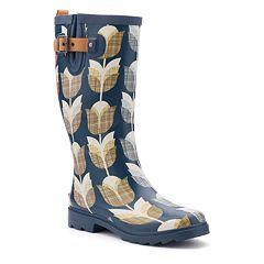 Chooka Women's Waterproof Rain Boots