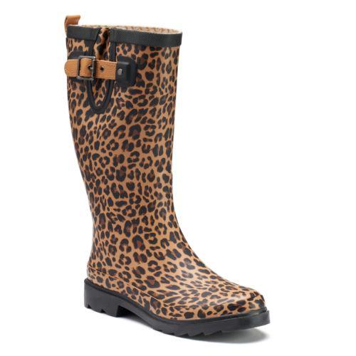 Women's Waterproof Rain Boots