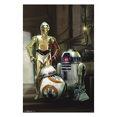 Star Wars: Episode VII The Force Awakens Droids Poster by Art.com