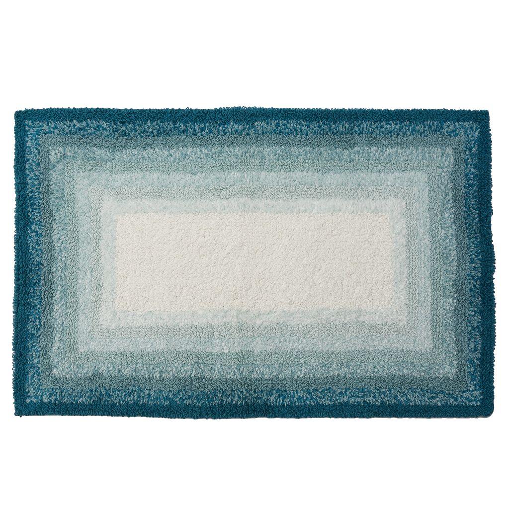 SONOMA Goods for Life™ Ombre Border Reversible Bath Rug