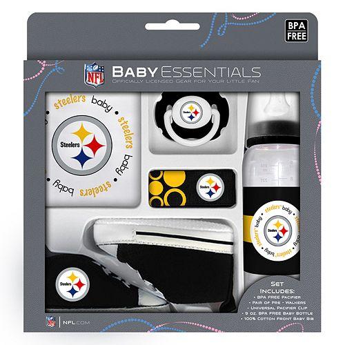 dc9b7cbf1 Baby Fanatic Pittsburgh Steelers 5-Piece Essentials Gift Set