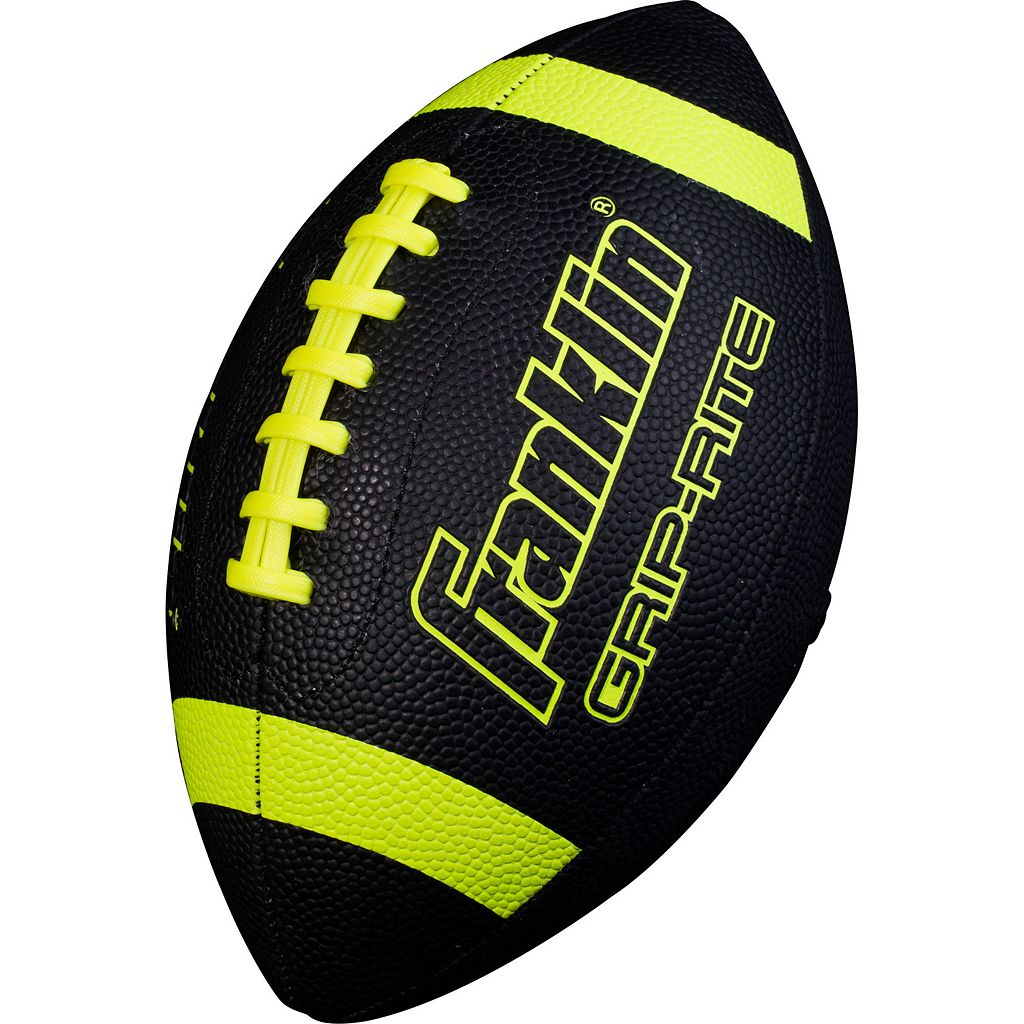 Franklin Black Junior Grip-Rite Football